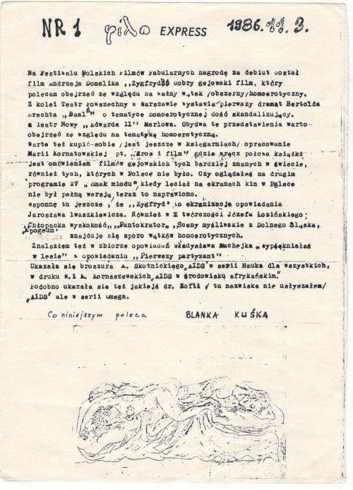 FILO 1/1986